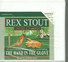 THE HAND IN THE GLOVE by REX STOUT~UNABRIDGED CD'S AUDIOBOOK