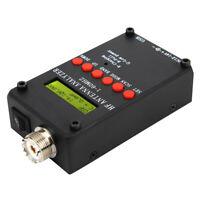 Mini60S Digital Shortwave Antenna Analyzer Meter Tester 1-60MHz For Ham Radio