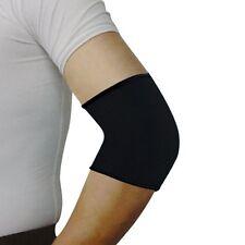 Sport Black Elastic Neoprene Elbow Support Sleeve Brace CT