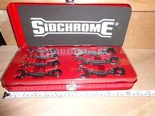 SIDCHROME IMPERIAL STUBBY GEARED SPANNER SET 7 Piece A/F Ratchet Gear SCMT 22403