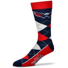 For Bare Feet Washington Capitals Argyle Socks FREE SHIPPING