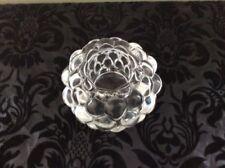 Candle Holder Vintage Original Scandinavian Art Glass