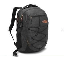 WOMENS  TNF BLACK HEATHER BOREALIS  THE NORTH FACE BACKPACK 25L ( ONE SIZE )