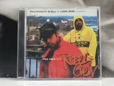 PSYCHEDELIX B. BOY & LION 808 PRESENTS : REBEL CREW - TEX MEX EFX CD LIKE NEW