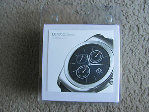 Brand New LG Watch Urbane LG-W150 Wearable Smart Watch – Black/Silver