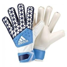 adidas ACE Fingersave Football Gloves Junior Size 4 Blue White R532-20