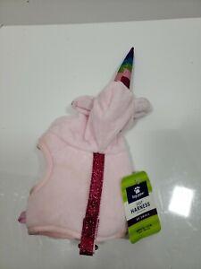 (New) TOP PAW Unicorn Hoodie Vest Dog Harness XX-Small