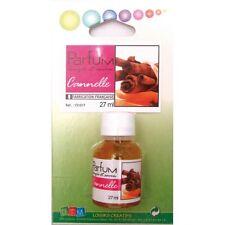 Flacon 27ml parfum liquide pour bougie et savon - Cannelle