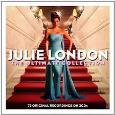 Julie London The Ultimate Collection 3-CD NEW SEALED Cry Me A River/Blue Moon+