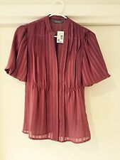 Size 6 brand new with tags Jacquie shirt.