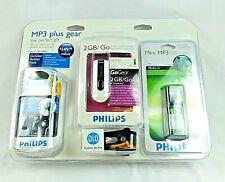 Philips 007-0909 Go Gear Action Pack, MP3/FM Player Bundle