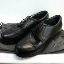 Aetrex Customized Comfort Classic Oxford Black Leather Shoes UK 11.5 Barely Used