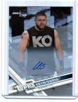 WWE Kevin Owens 2017 Topps Then Now Forever Silver Autograph Card SN 17 of 25