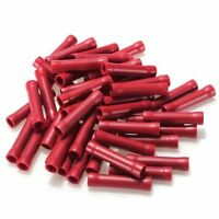 50x crimp terminals insulated splices cable connector Terminals red industr S6E3