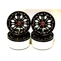 "Hot Racing BLW19SLB01 1.9"" Rock Crawler Aluminum B Type Beadlock Wheels (4)"