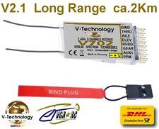 DSM2 DSMX Spektrum Kompatibel V702 V-tech. Long Range Empfänger ca.2Km G83