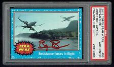 Bryan Burk signed autograph 2015 Topps Star Wars Force Awakens Card PSA Slabbed