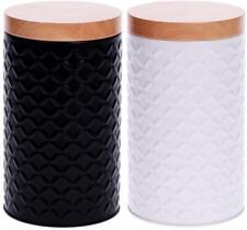 Vorratsdose mit Deckel 1,4 L  Keksdose Bleckdose Kaffeedose Pralinendose 19x11cm
