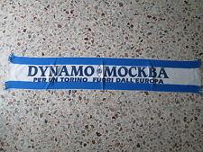 d1 sciarpa DINAMO MOSCOW FC football club calcio scarf schal russia pоссия
