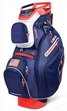Sun Mountain C-130 Cart Bag 14 Ind. Full Dividers 2019 Navy/White/Red USA New