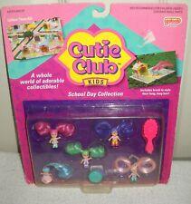 #10154 NRFC Vintage Galoob Cutie Club School Day Doll Collection