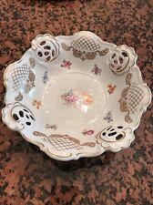 WEIMAR PORZELLAN-PORCELAIN-GDR-Barbarina Footed Dish/Bowl-Near Mint