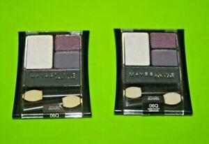(2) Maybelline EXPERT WEAR Stylish Smokes Eyeshadow 06Q AMETHYST SMOKES Sealed