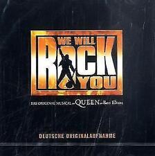 CD THE ORIGINAL MUSICAL QUEEN BY BEN ELTON WE WILL ROCK YOU D. ORIGINALAUFNAHME