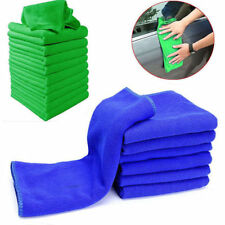 10x Microfiber Cleaning Detailing Cloths Wash Duster Towels Auto Car Soft Rag YX