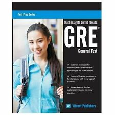 Math Insights on the Revised Gre General Test by Vibrant Publishers (2013,...