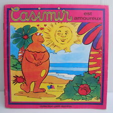 Livre ancien Casimir est amoureux Collection Petit domino 17.5/17.5cm TF1 Beloka