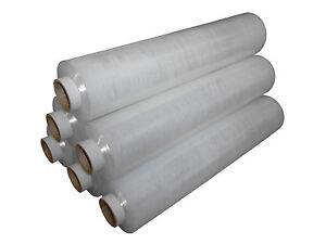Heavy Duty Clear Pallet Wrap shrinkwrap Stretch Film 500mm x 300m 23mu New Lot
