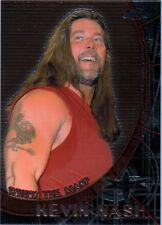 WCW Kevin Nash & Goldberg 1999 Topps Embossed Chrome Double Sided Insert Card