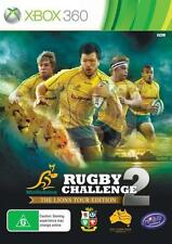 Rugby Challenge 2 - The Lions Tour Edition Microsoft Xbox 360 PAL Brand New