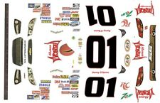 #01 Danny O'Quinn VENOM energy Drink 2013 Chevy 1/43rd Scale Slot Car Decals