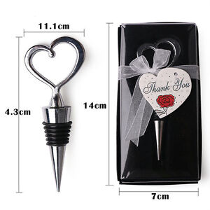 Wine Bottle Stopper Stainless Steel Vacuum Sealed Bar tools Plug Favors Gifts