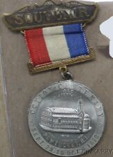1890 Pawucket Ri Cotton Century Souvenir Medal Badge With Ribbon