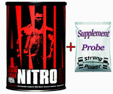 Universal Nutrition Animal Nitro 44 Packs Aminokomplex EAA BCAA MHD:9.17 + BONUS