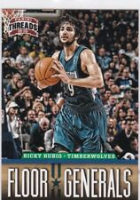 Ricky Rubio 2012-13 Panini Threads Cartas Coleccionables, Floor General