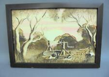 Outback Australian Art – Don Lewis -indigenous Oil Painting of a Well