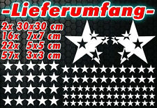 97 Sterne Star Auto Aufkleber Set Sticker Tuning Shirt Stylin WandtattooTribel f