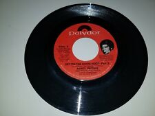 "JAMES BROWN Get On The Good Foot Part 1 and 2 POLYDOR 14139 45 VINYL 7"" RECORD"