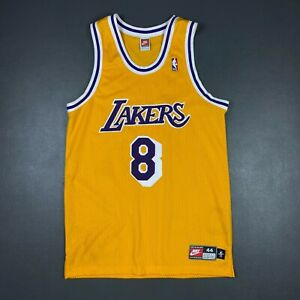 100% Authentic Kobe Bryant Vintage Nike 1998 Lakers Jersey Size 44 L Mens