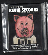 THE ART OF KEVIN SECONDS TRADING CARD SET+1 PREMIUM AUTOGRAPH or SKETCH 7SECONDS