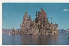 USA, The Phantom Ship, Crater Lake, Oregon Postcard, B232