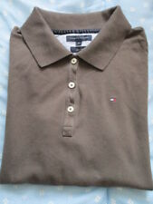 Polo manches longues femme,Tommy Hilfiger,taille affichée M