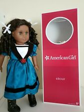 Retired American Girl Doll Cecile  - /excellent used condition