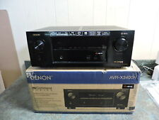 Denon AVR-X3400H 7.2 Ch Full 4K Ultra HD Network with HEOS Bluetooth Dolby Atmos