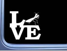 """Praying Mantis Love L462 6"""" Sticker decal insect"""