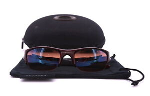 Oakley Flak Jacket Dark Red G30 Lens Golf Anti Reflective Protective Case